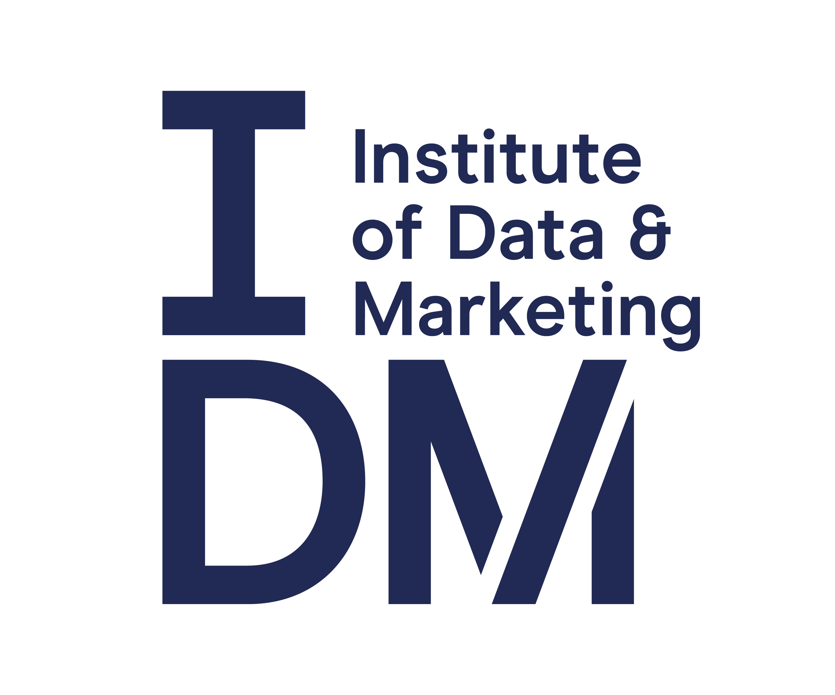 An image of the Institute of Data and Marketing logo